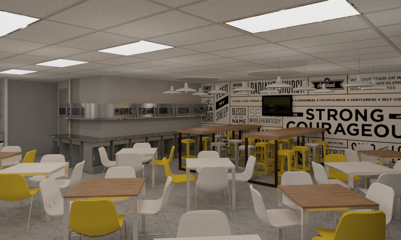 Canteen design autodesk online gallery for Render case