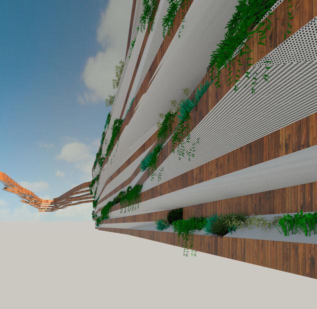 Green wall revit file autodesk online gallery for Rendering online free
