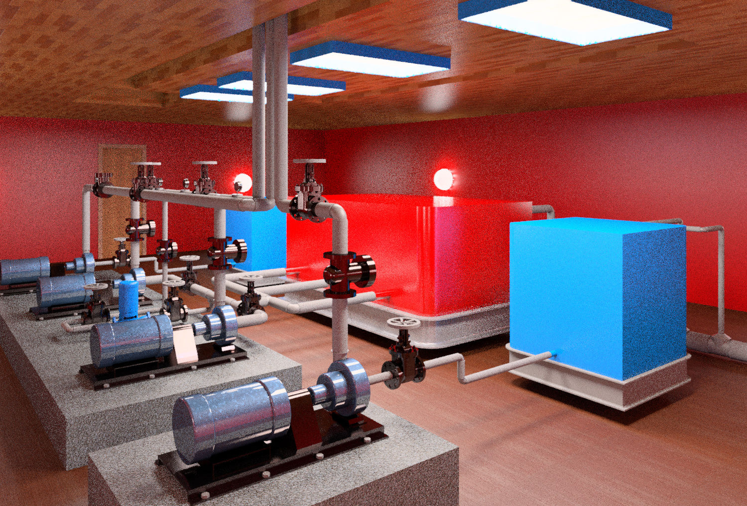 Pump room For Fire Fighting Water Based SystemAutodesk Online Gallery