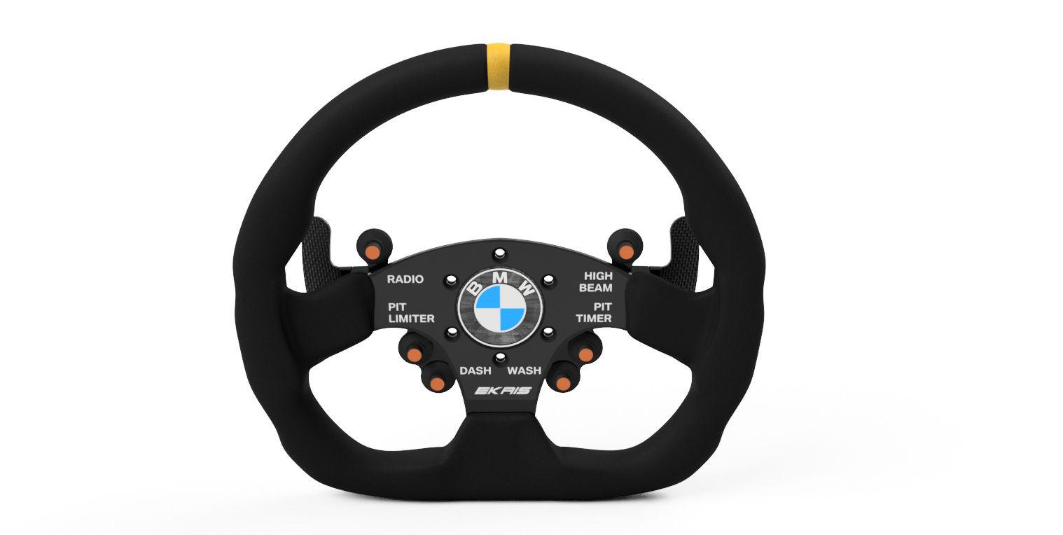 Bmw Racing Steering Wheel Autodesk Online Gallery