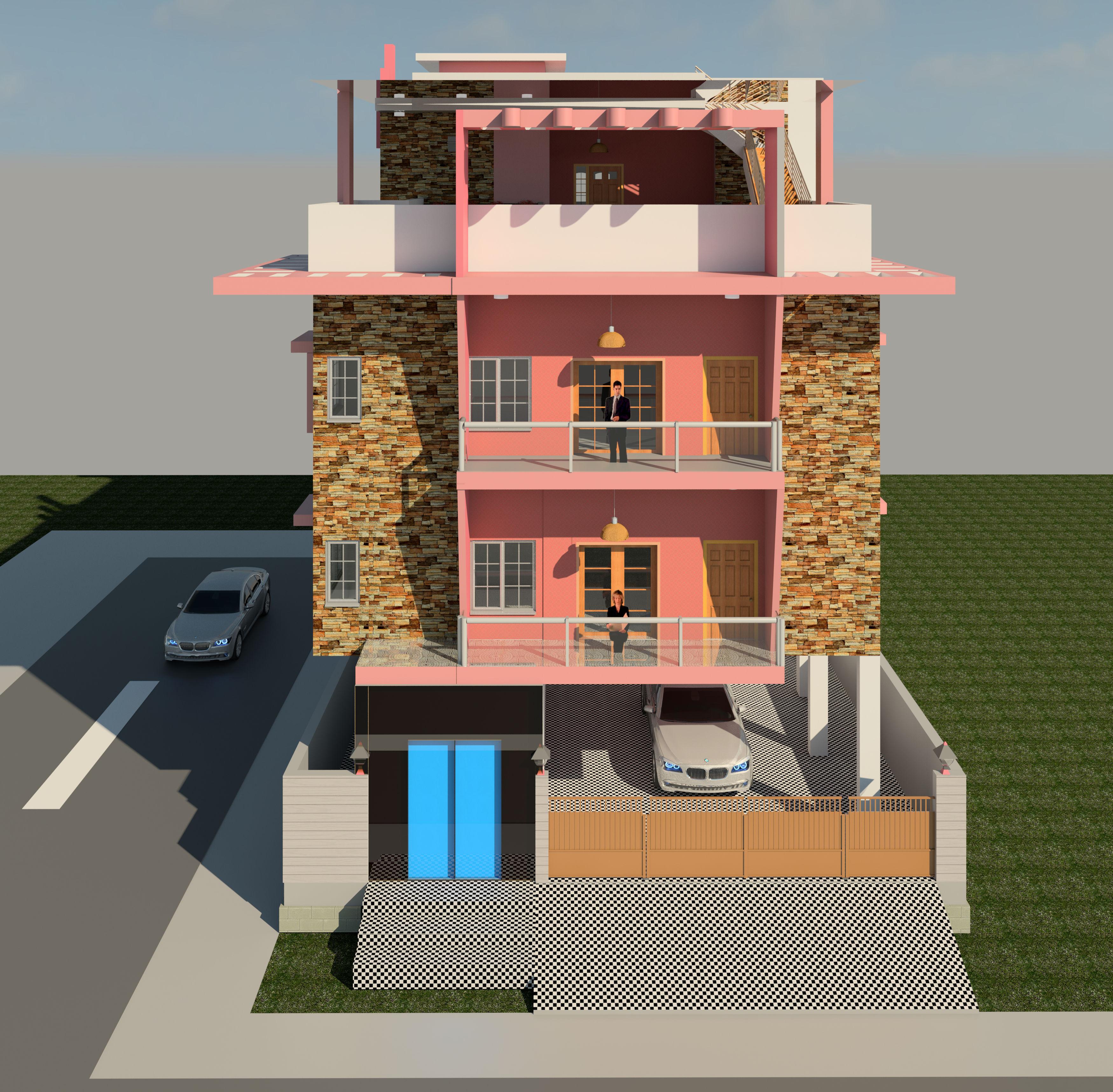Dream House Autodesk Online Gallery