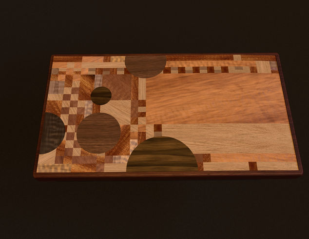 Serving Tray Inspired By Frank Lloyd Wright Autodesk