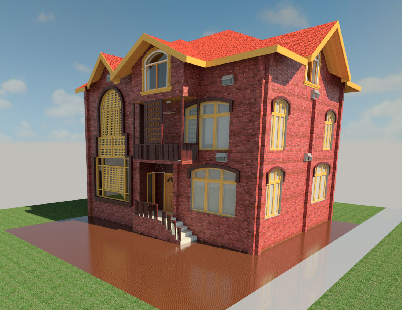 Kashmir Hut Design Autodesk Online Gallery