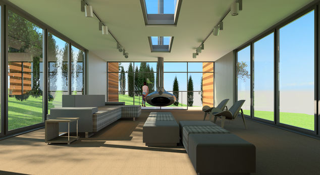 Revit sample project autodesk online gallery for Rendering online