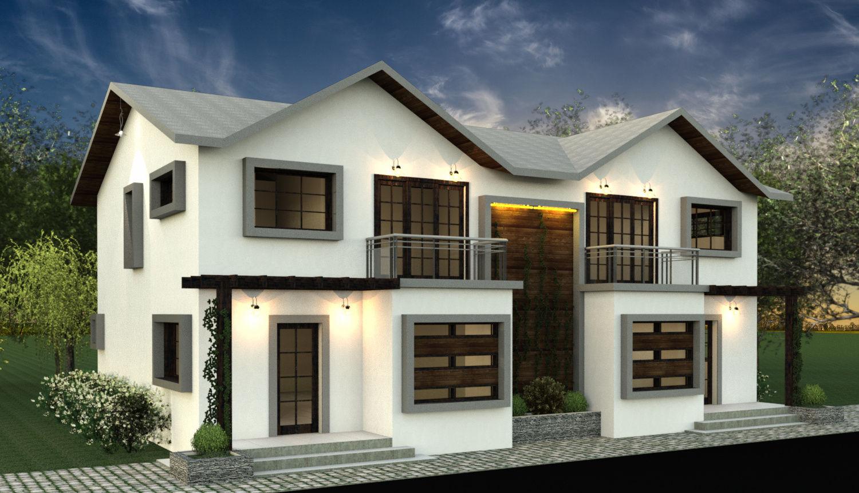 Villa Duplex Design remodelacion fachada villa duplex|autodesk online gallery