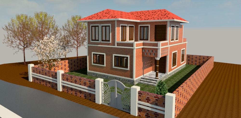 Kerala Style House Autodesk Online Gallery