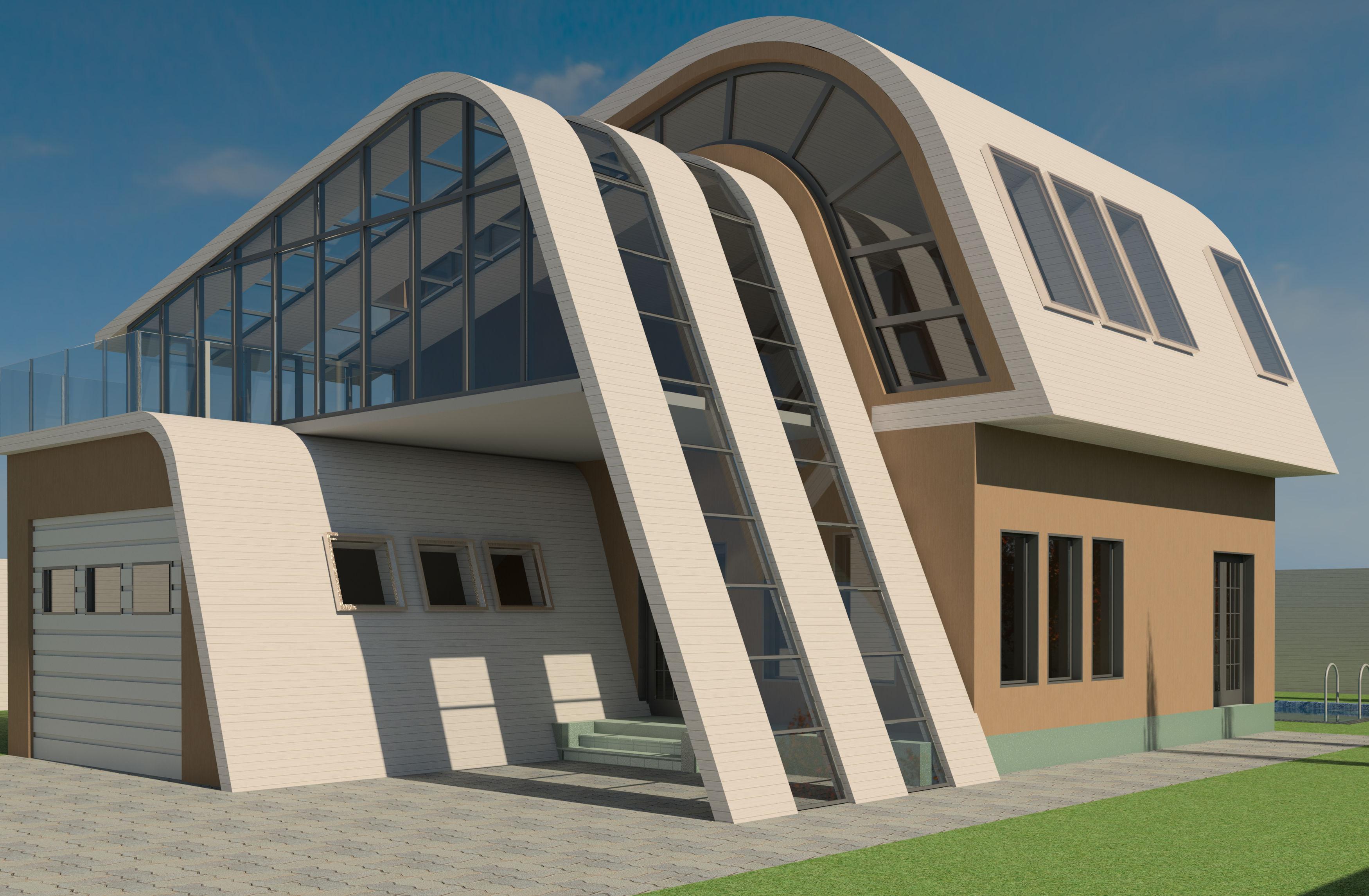 Modern House TutorialAutodesk Online Gallery