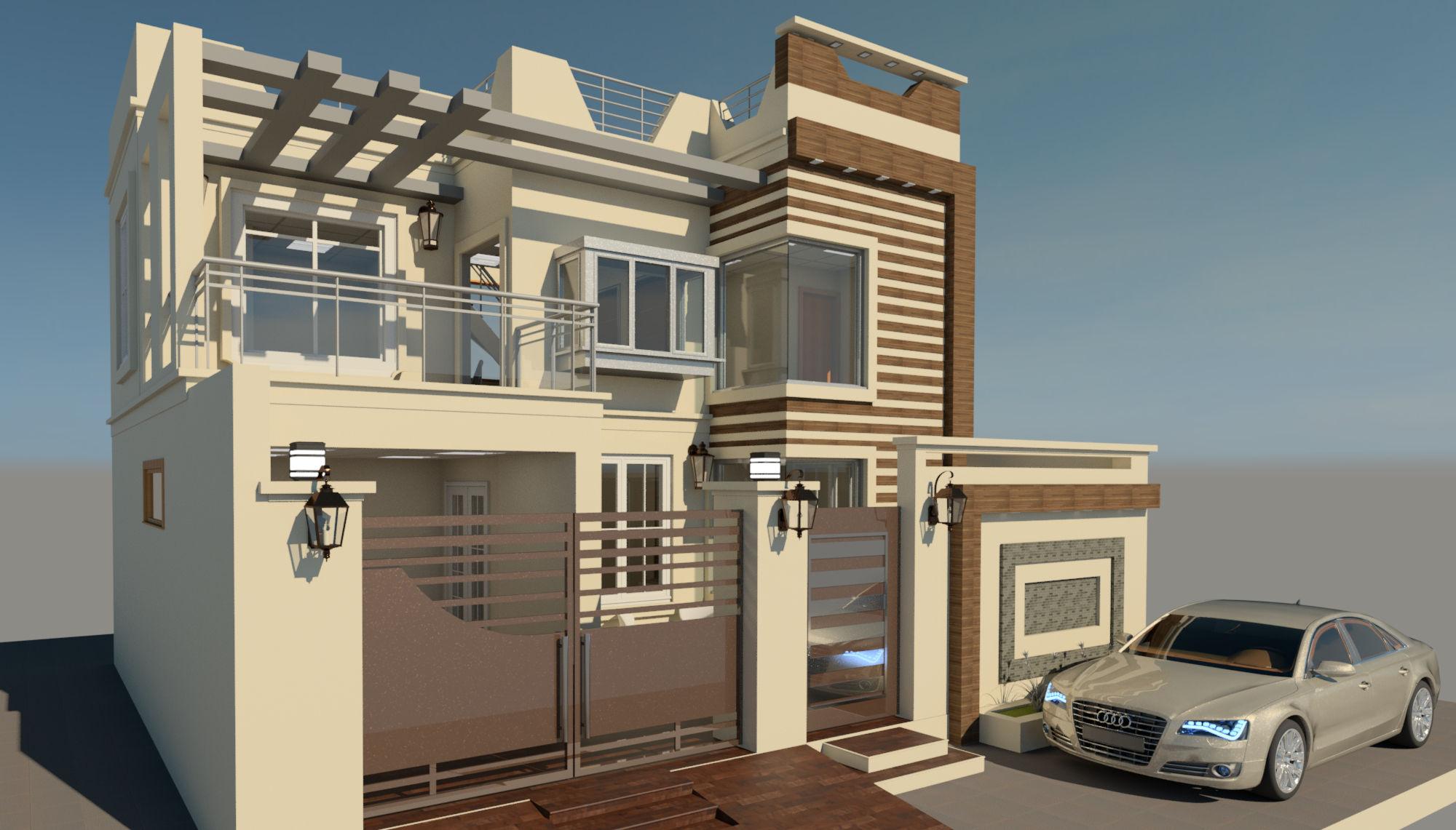 Modern 5 marla house 11 6 2018