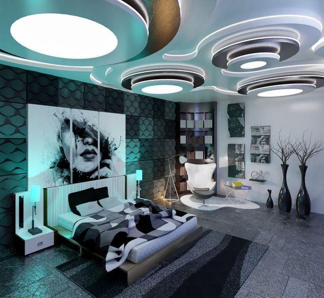 Small Luxury Apartment Buildings: Luxury Bedroom - Apartment Building Beach