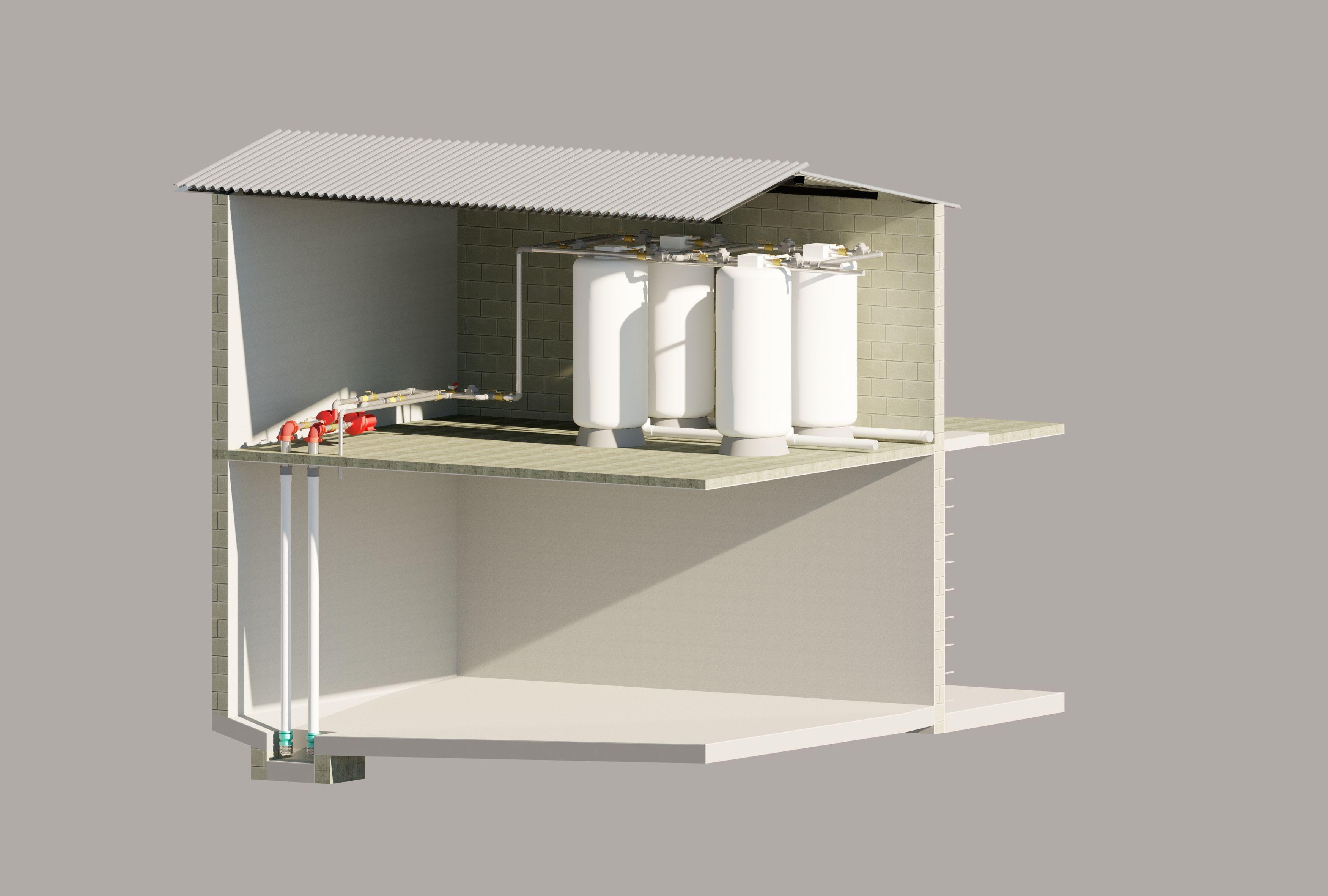 MODELO DE CUARTO DE MAQUINAS Autodesk Online Gallery