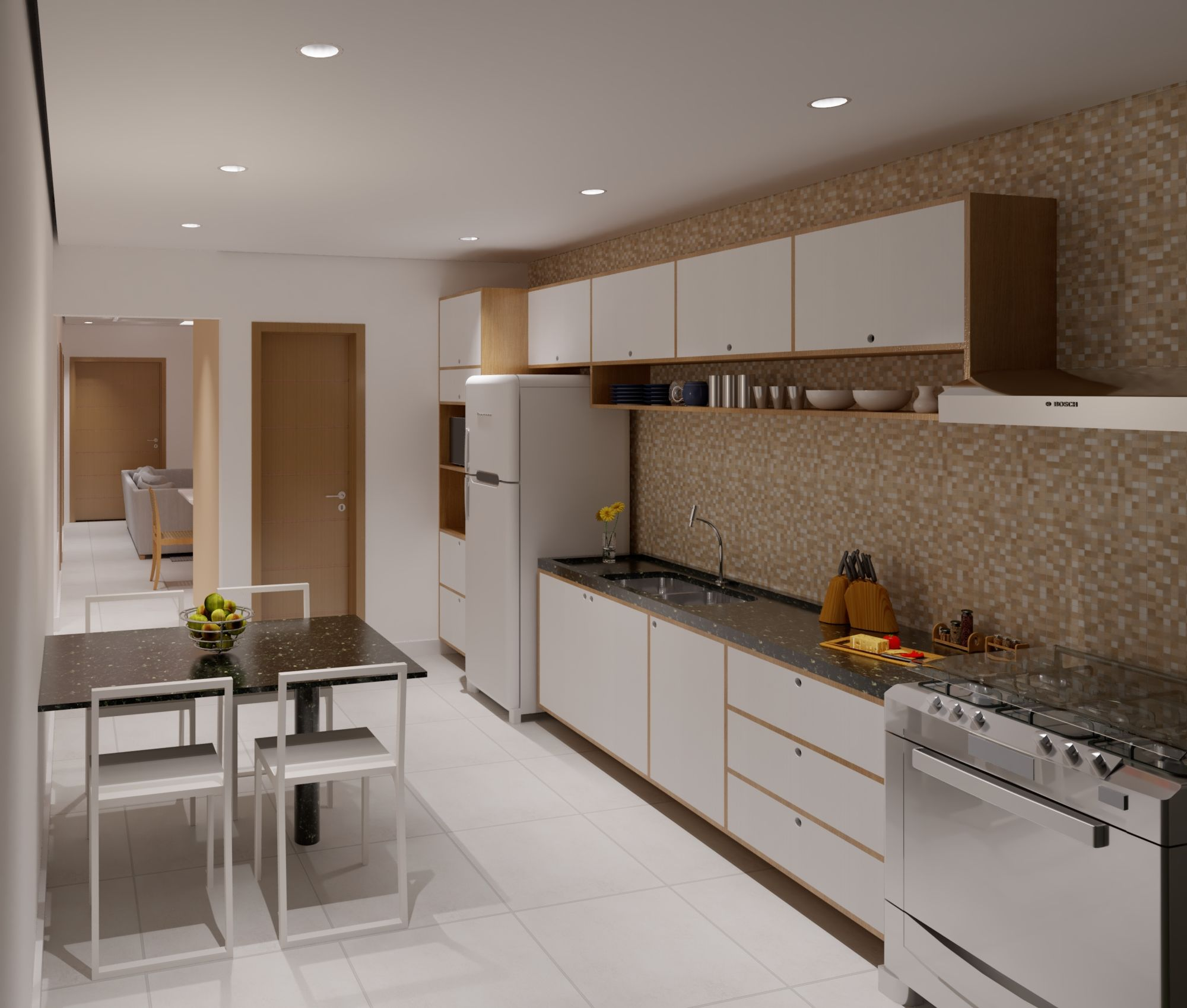 Small House Interior Autodesk Online Gallery