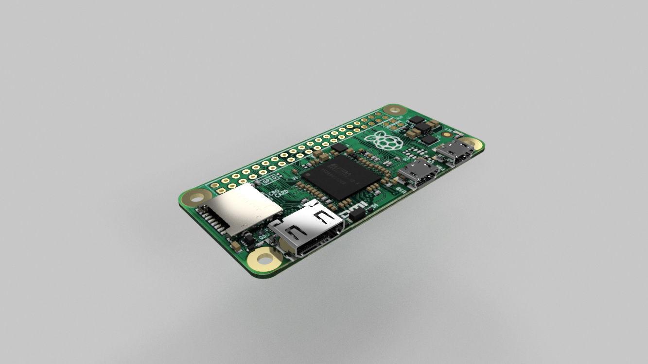 Raspberry Pi Zero|Autodesk Online Gallery