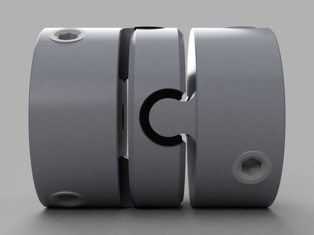 OLDHAM COUPLING|Autodesk Online Gallery