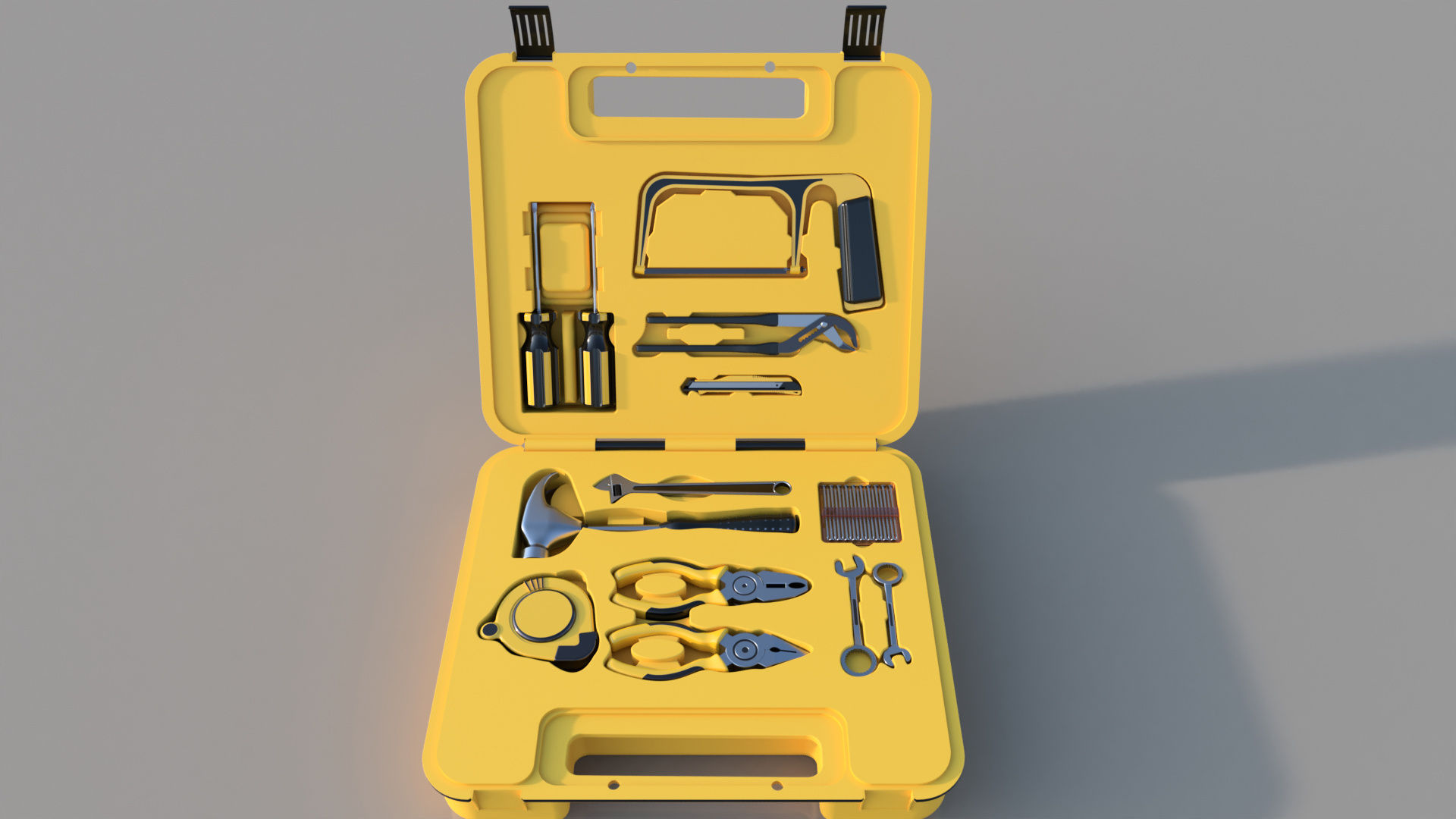 Modern hand tool kit autodesk online gallery for Online rendering tool