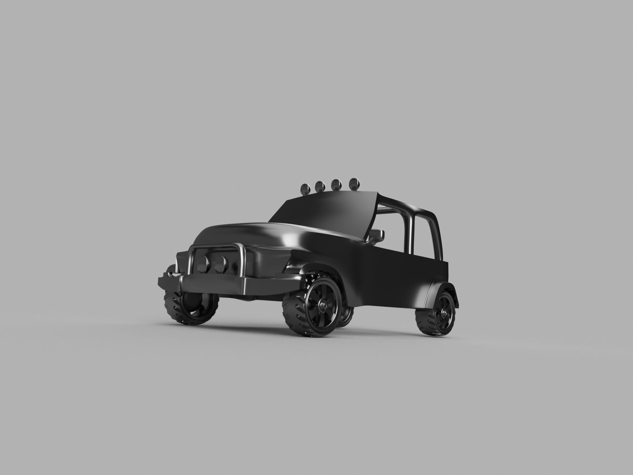 Automated Car Design {JEEP}|Autodesk Online Gallery