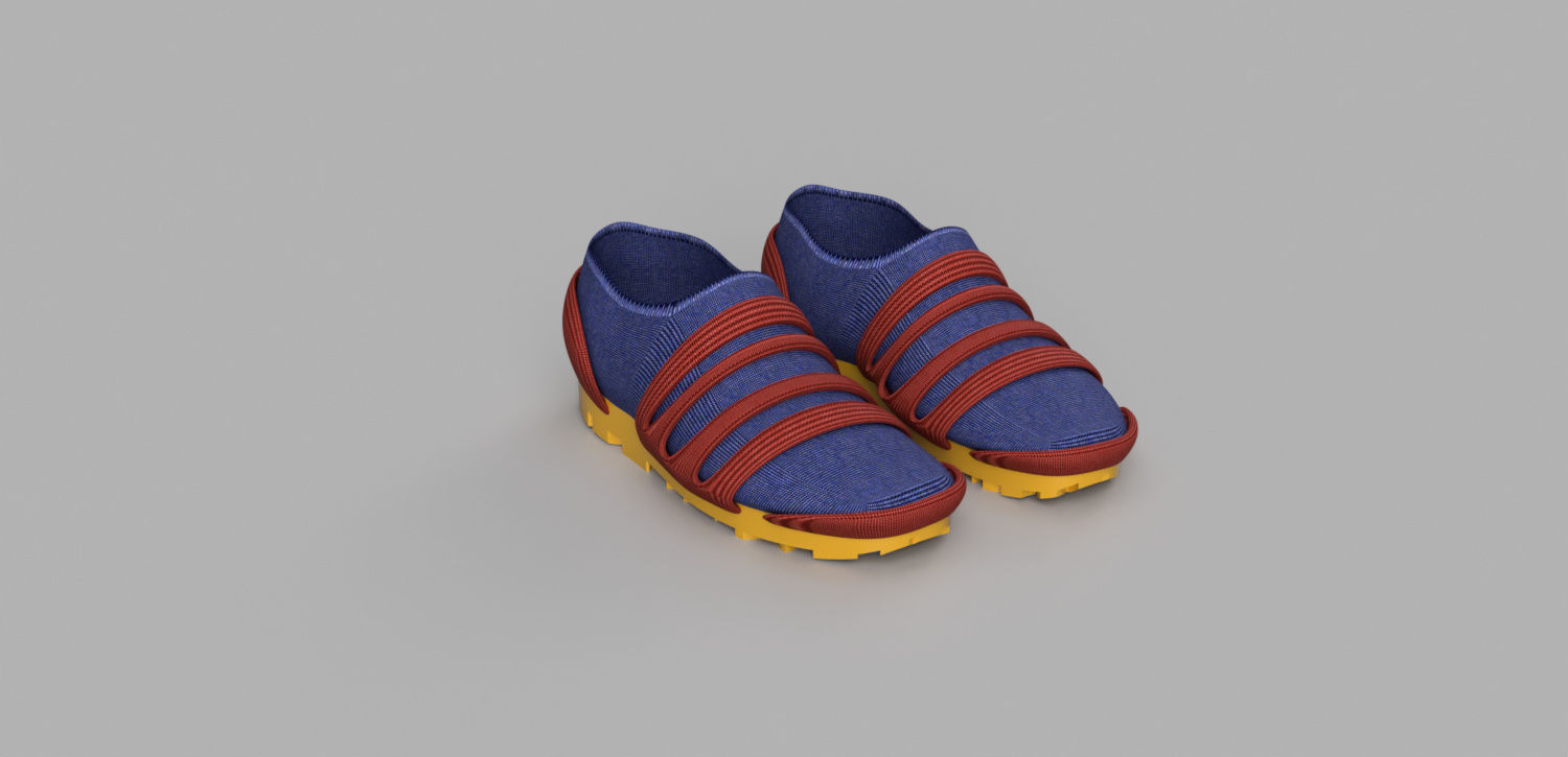 Shoes: Tutorial from Fusion 360