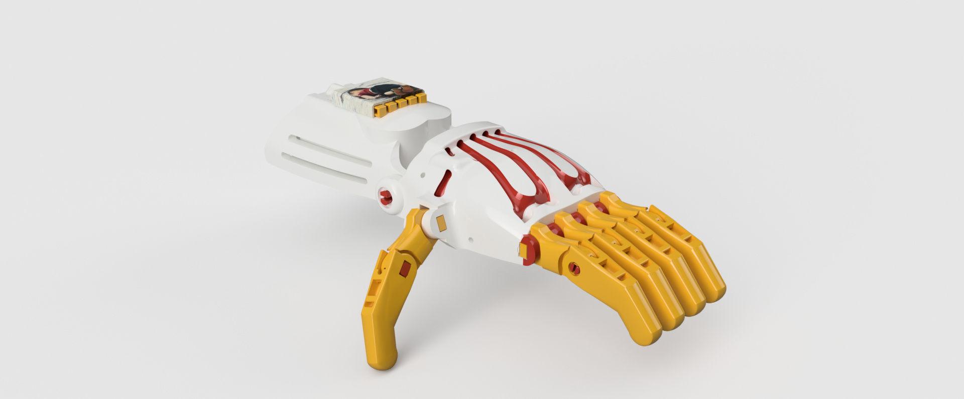 robotic hand Autodesk Online Gallery