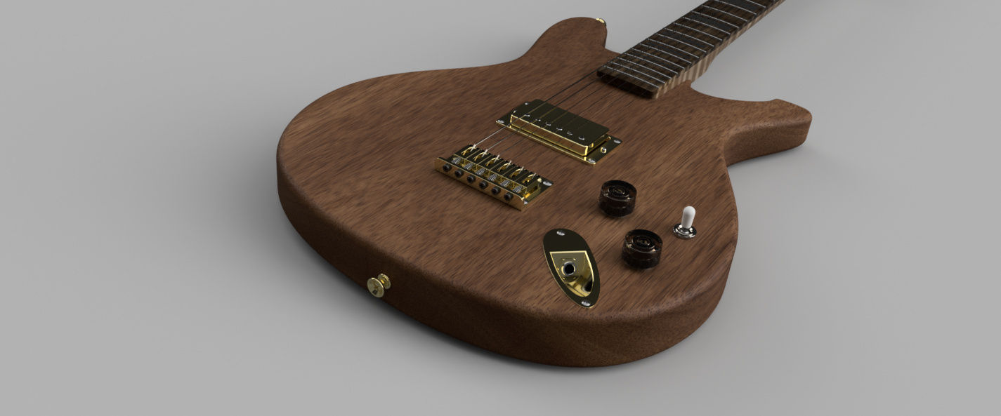 Make a Guitar|Autodesk Online Gallery
