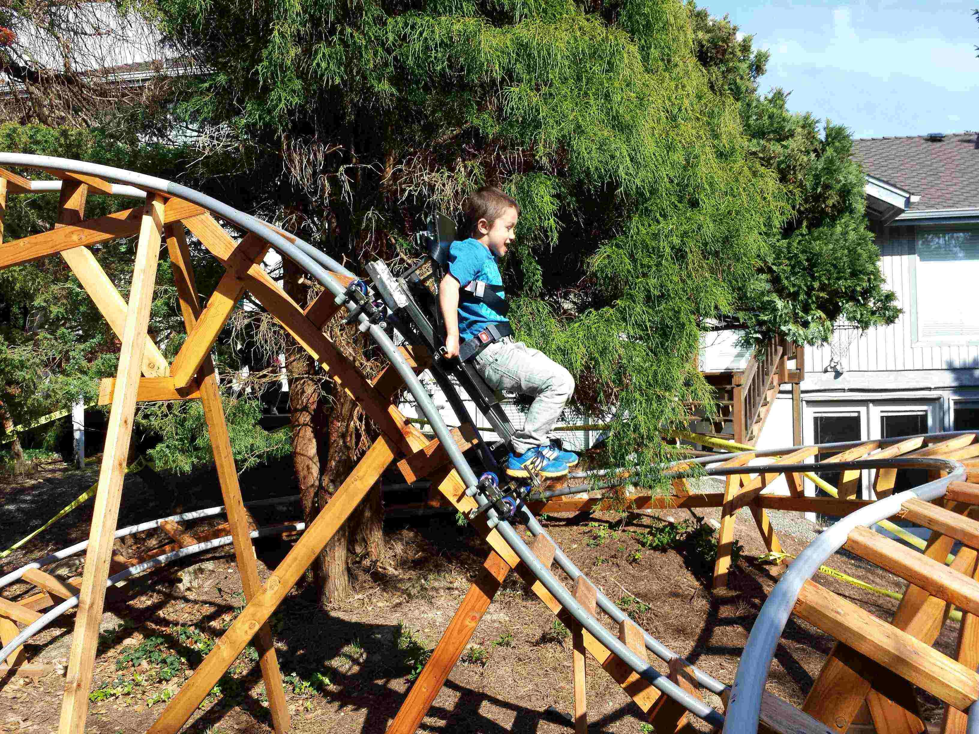 Roller Coaster In My Backyard : Backyard Roller CoastersAutodesk Online Gallery