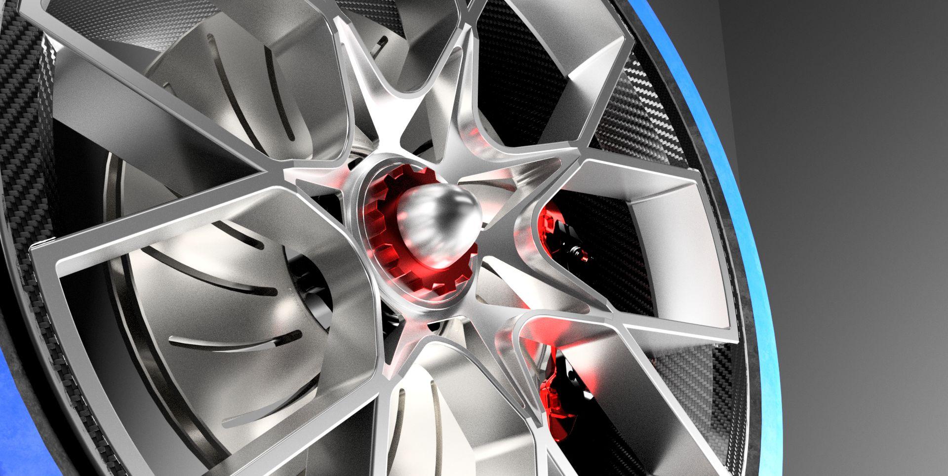 Bugatti Chiron Rim|Autodesk Online Gallery