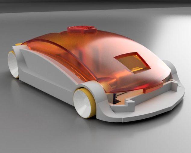 Salt Water Powered Car: Salt-water Powered Toy Car
