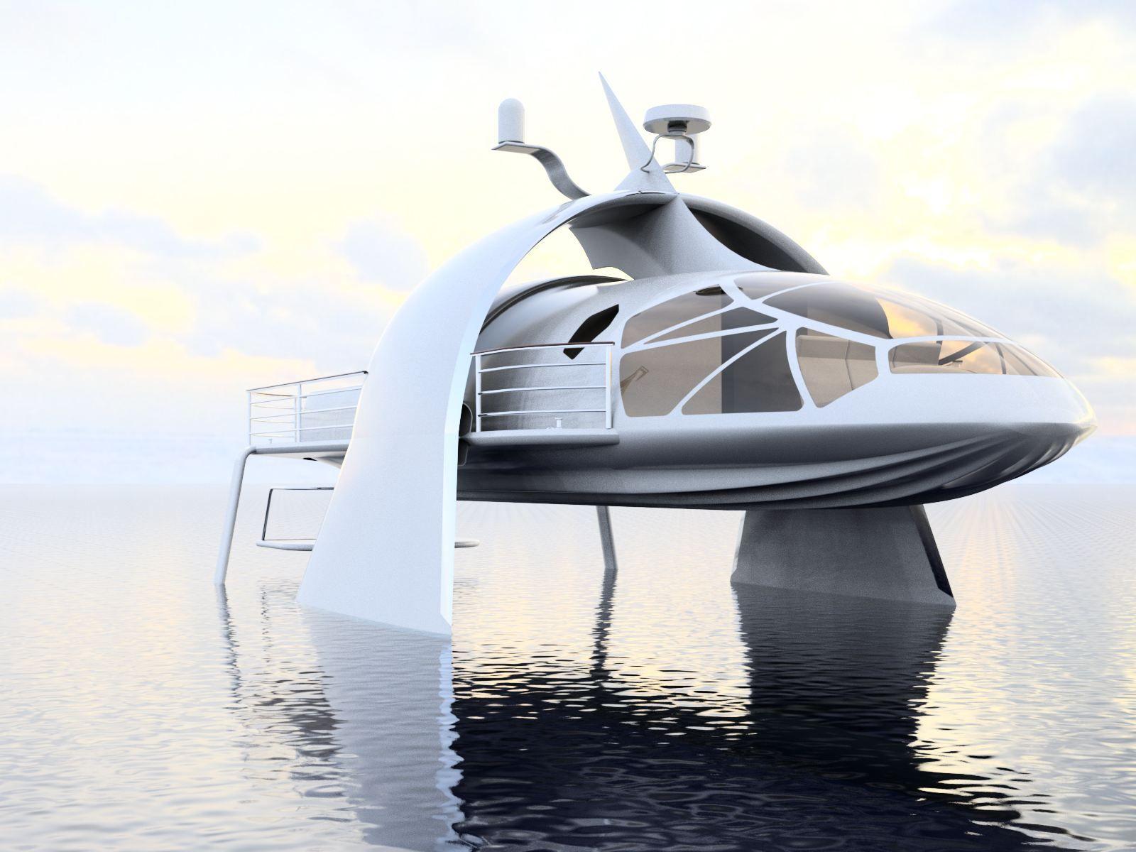 Trilobite swath yacht design concept autodesk online gallery for Yacht dekoration