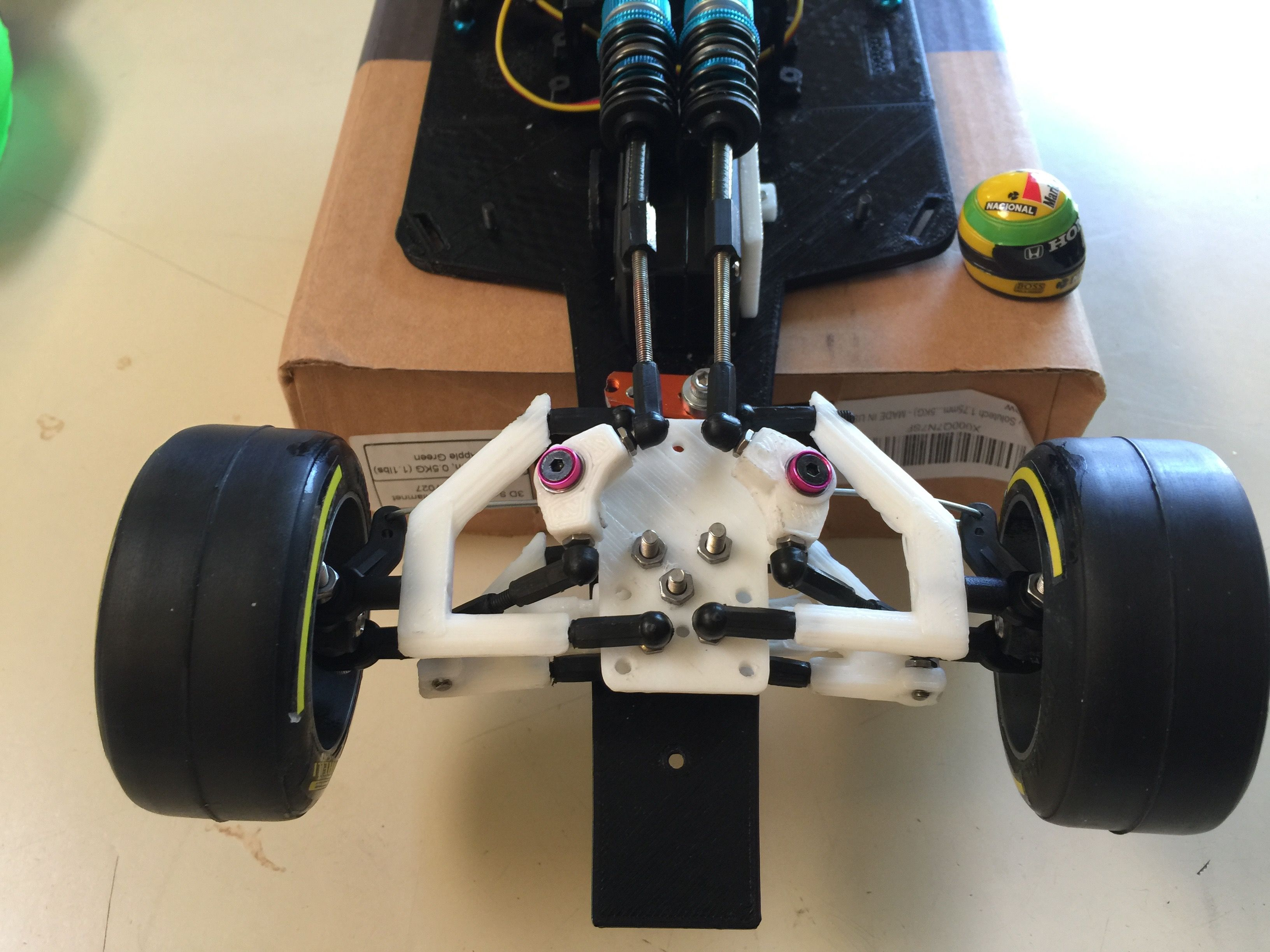 RS-01 Version B OpenRC F1 Fully Adjustable Racing Suspension