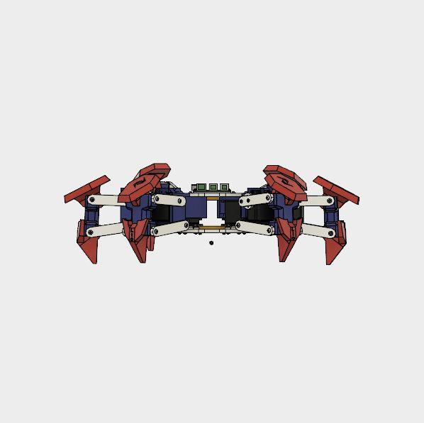 Hexapod Robot|Autodesk Online Gallery