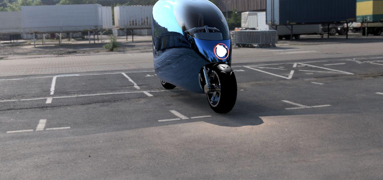 Self-balance-smart-bike-assembled-v32-parking-lot-3500-3500