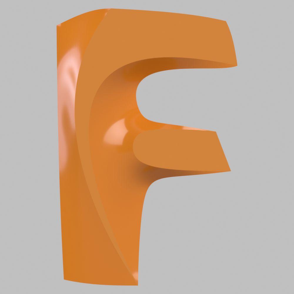 fusion logo with 3d spline curvesautodesk online gallery