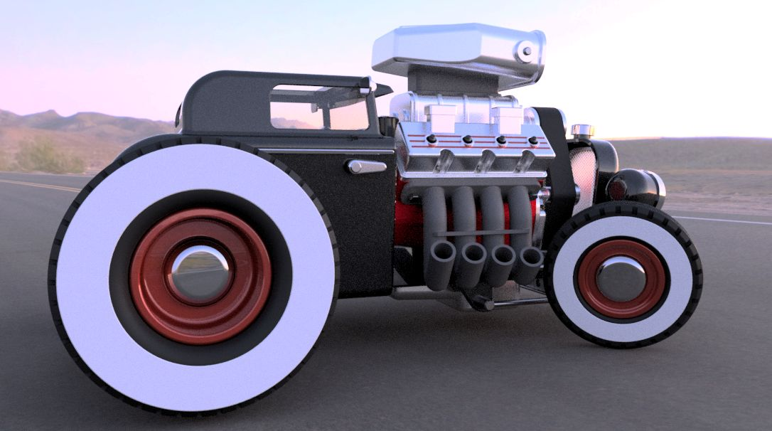 32 Ford Hot Rod|Autodesk Online Gallery