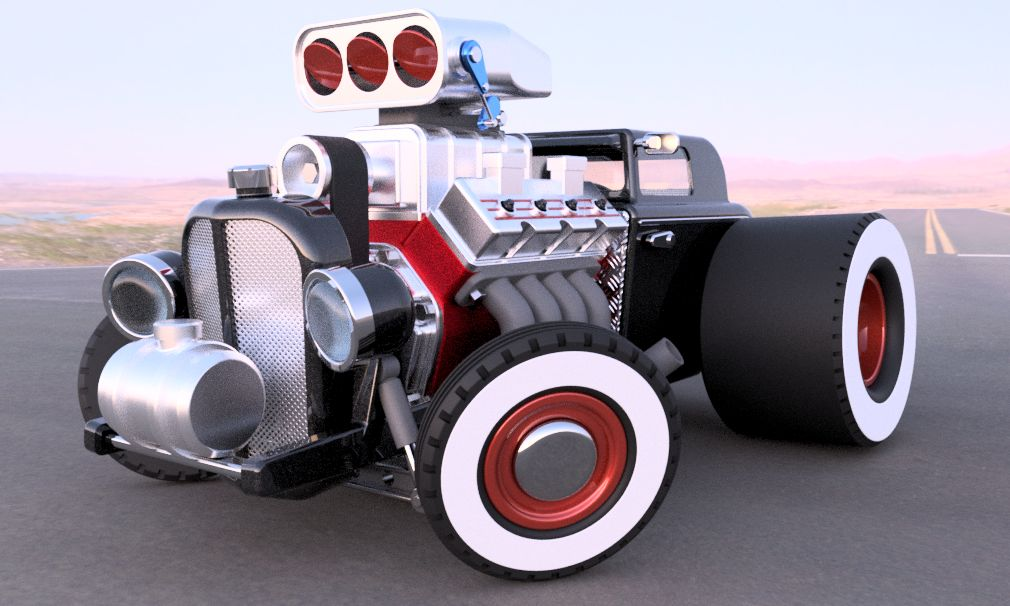 32 Ford Hot Rod Autodesk Online Gallery