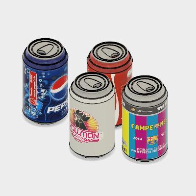 Modelo - Pepsi Cola lata 330 ml  |Autodesk Online Gallery
