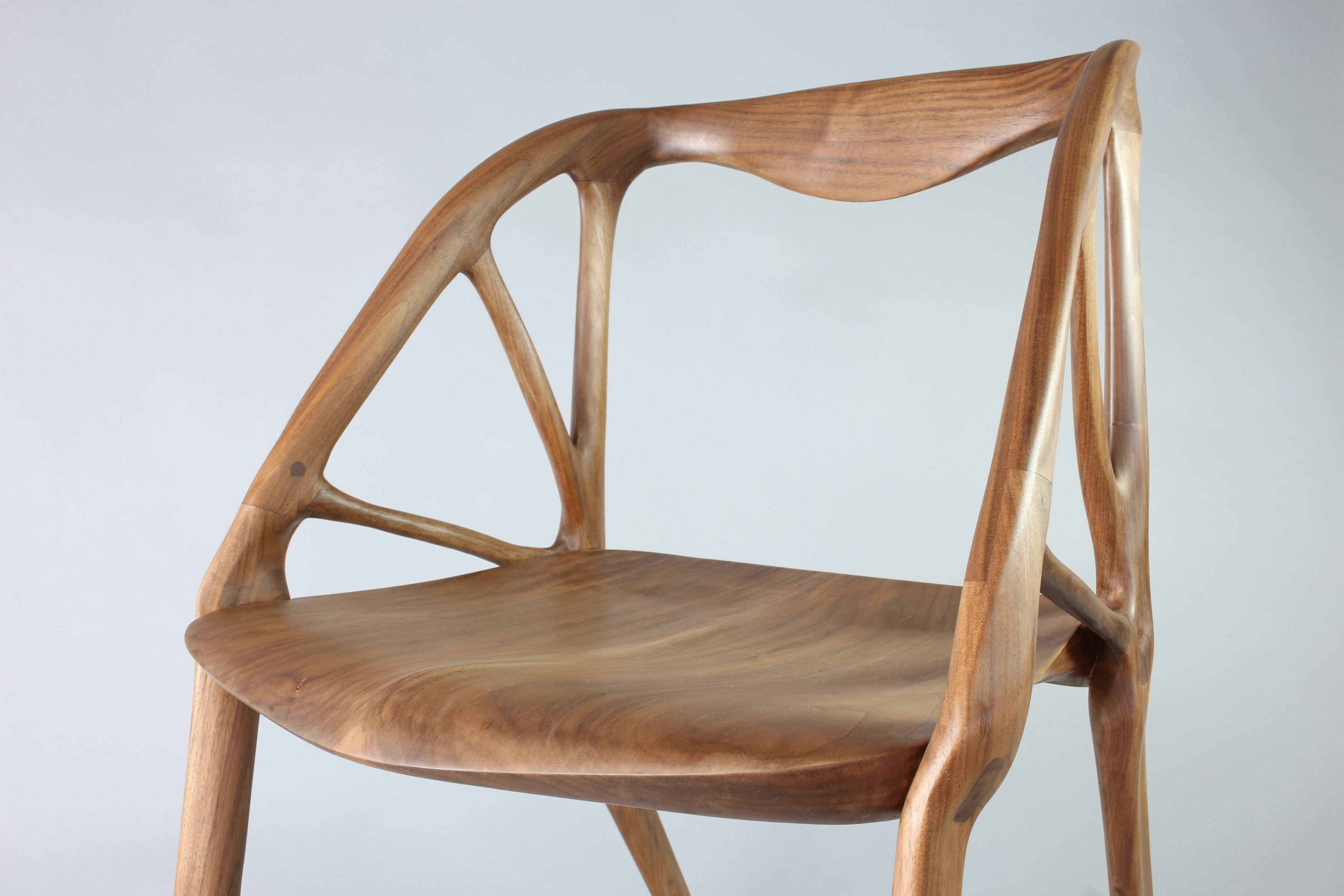 Elbo Chair Generated in Project Dreamcatcher Made with Fusion