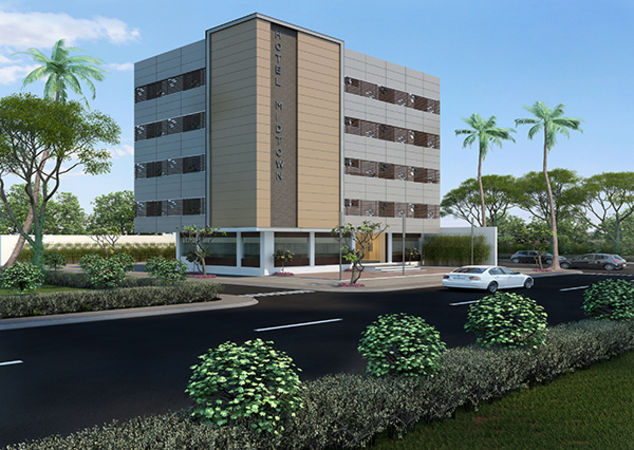 3d exterior rendering for commercial building autodesk for 3d rendering online