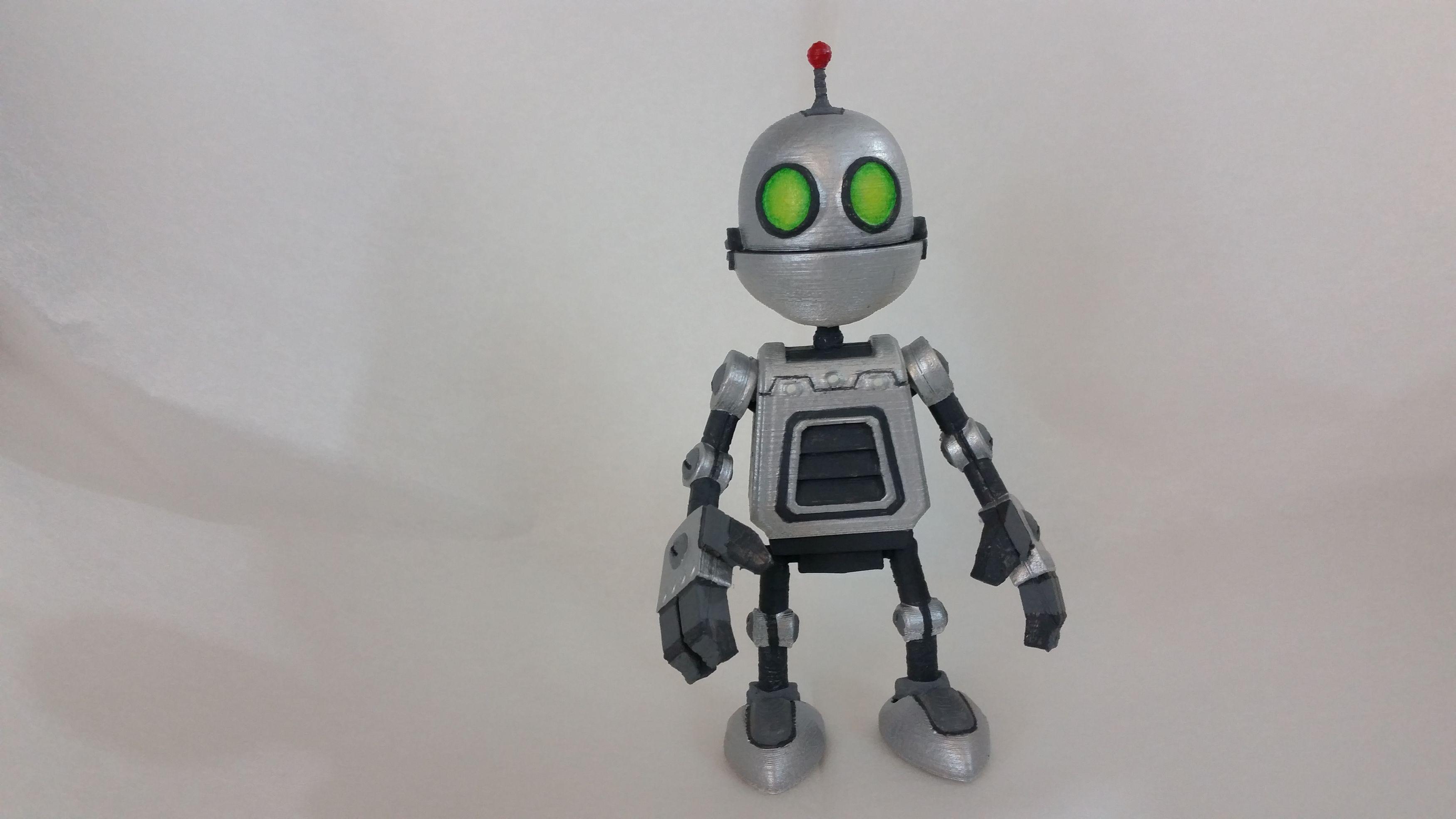 Clank Figure Ratchet Clank Autodesk Online Gallery