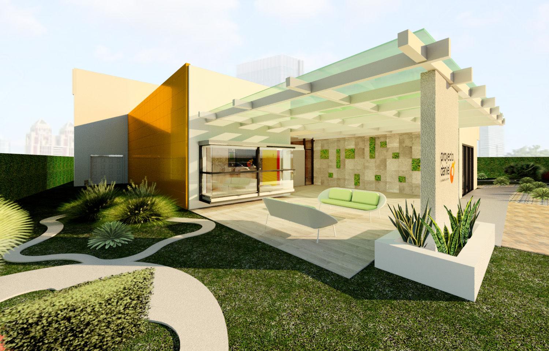 Diseo exteriores de casas patio estupendo diseo escaleras - Diseno exterior de casas ...