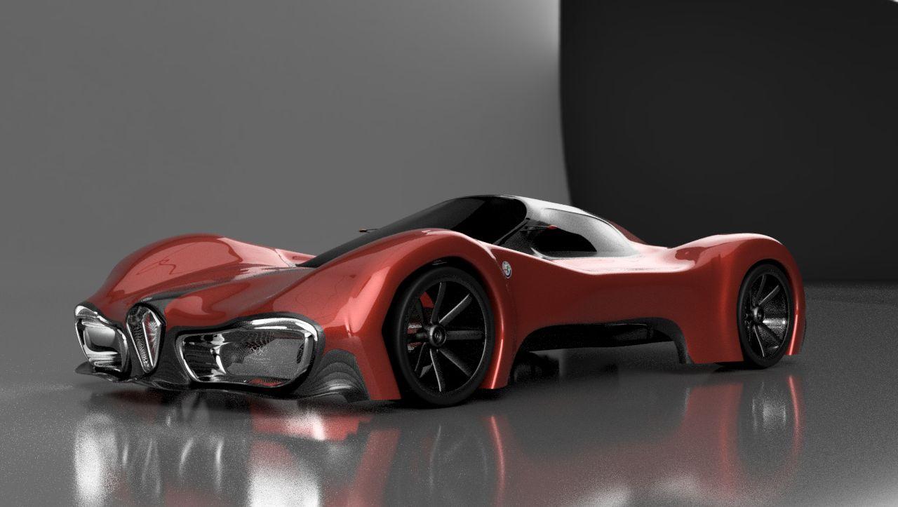Alfa Romeo Concept Car >> Alfa Romeo Car Concept Autodesk Online Gallery