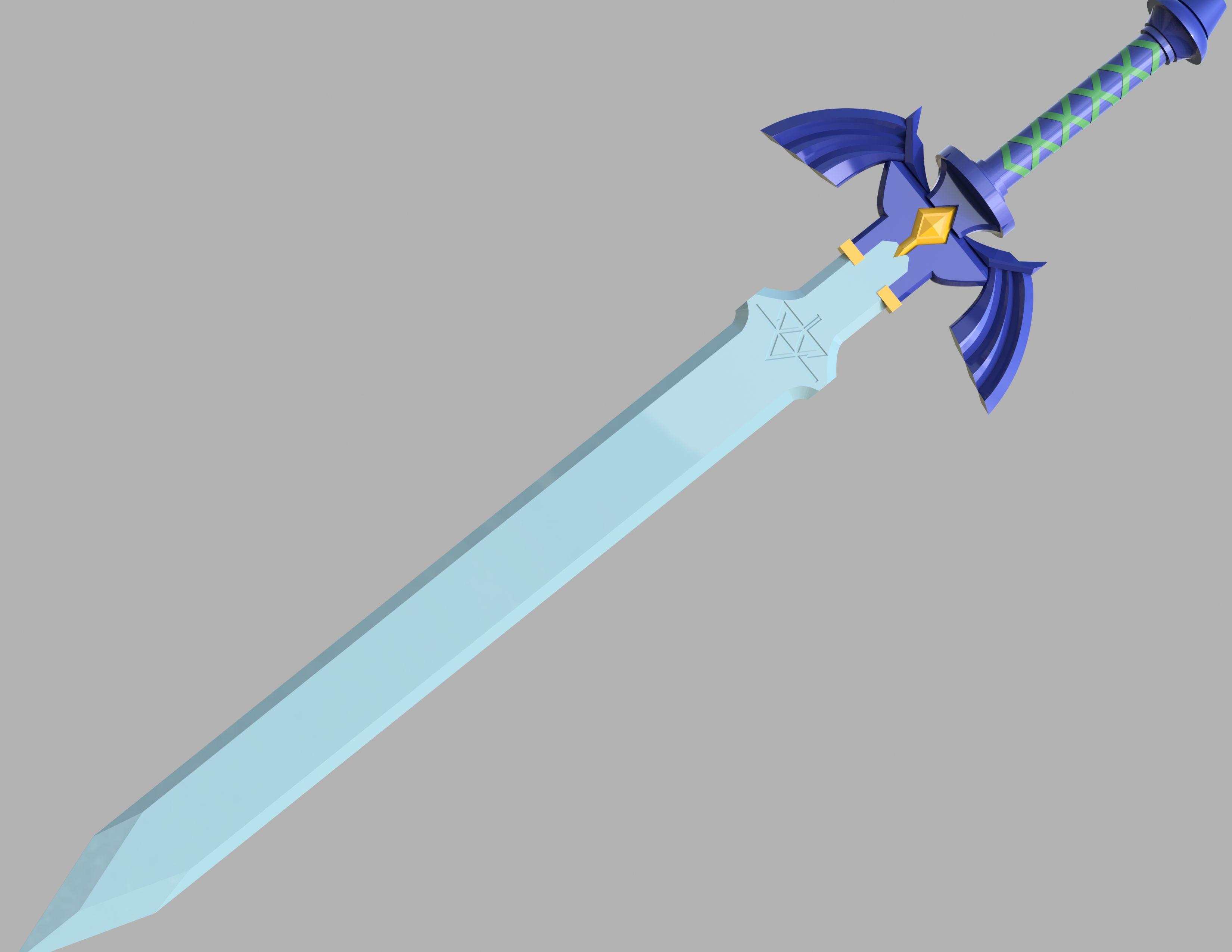 Master Sword The Legend Of Zelda Autodesk Online Gallery