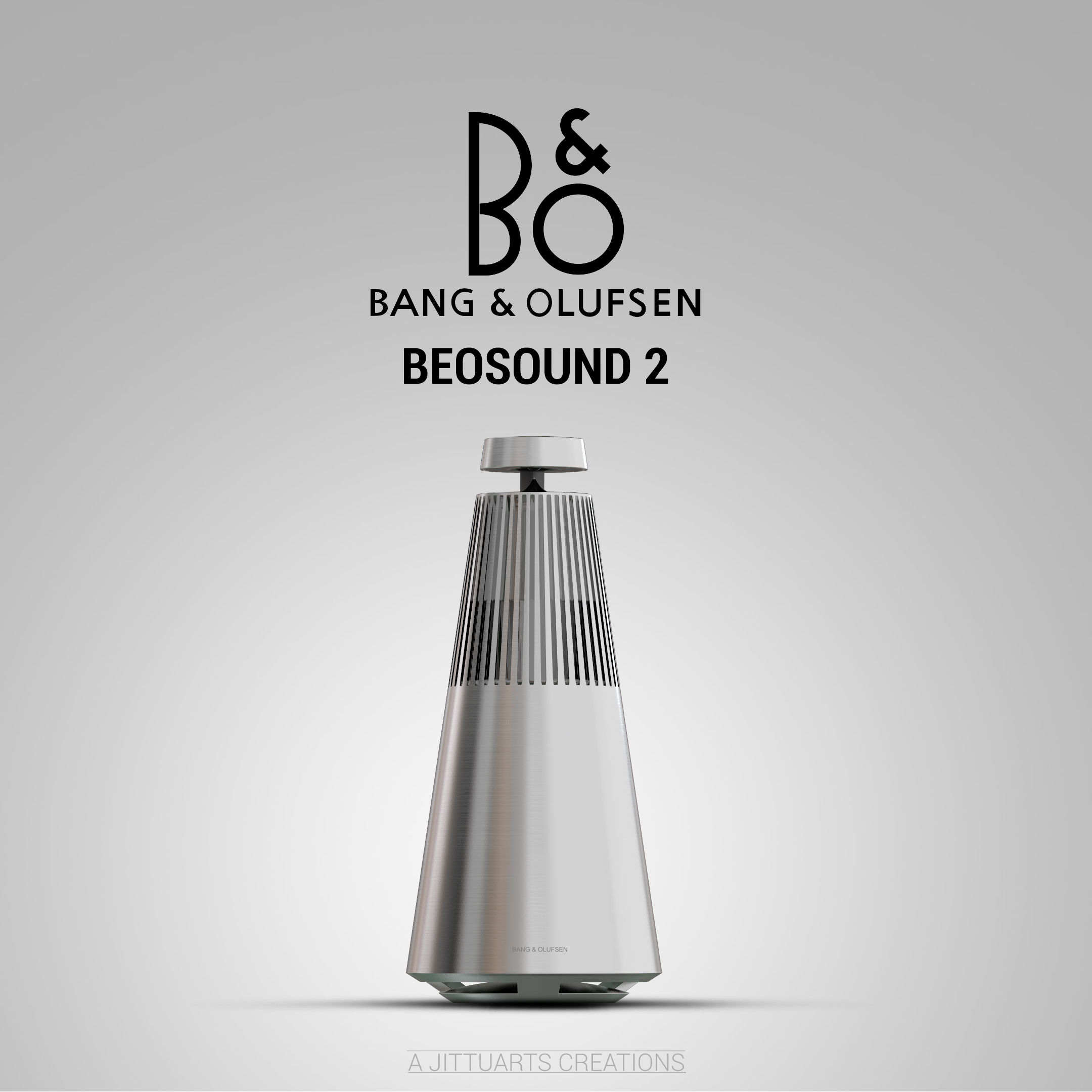 bang olufsen beosound 2 360 degree wireless speaker autodesk online gallery. Black Bedroom Furniture Sets. Home Design Ideas