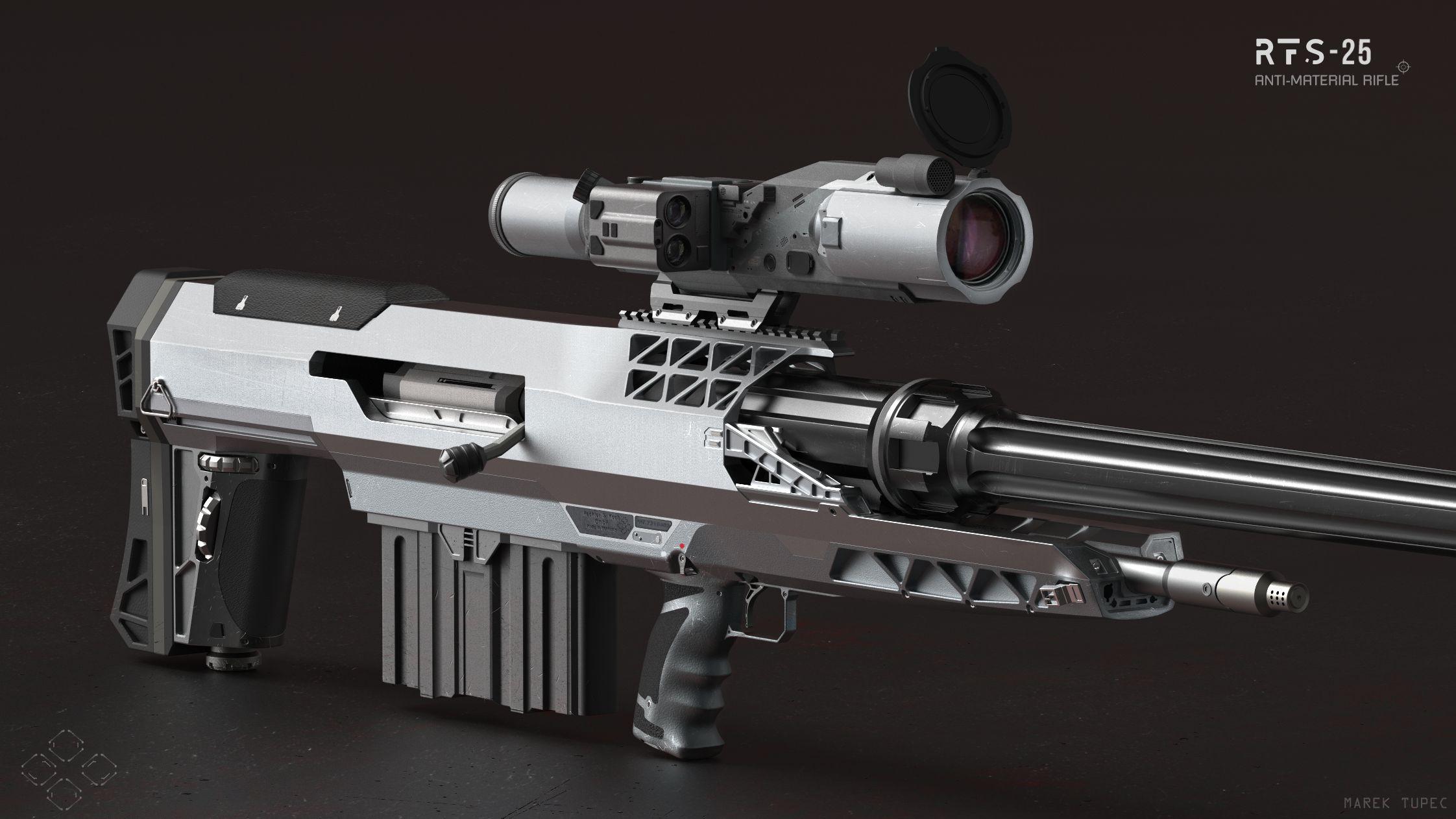 Rfs 25 Anti Material Rifle Autodesk Online Gallery