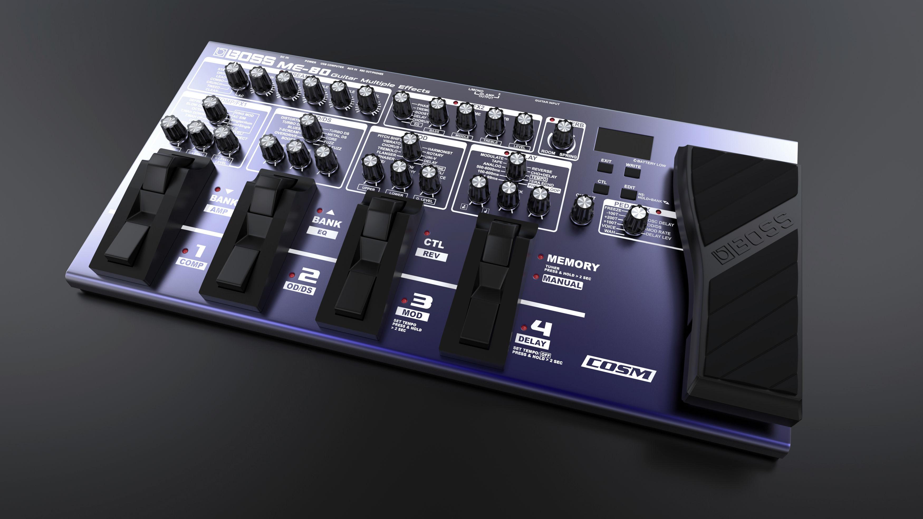 BOSS ME-80 (Keyshot Render)|Autodesk Online Gallery