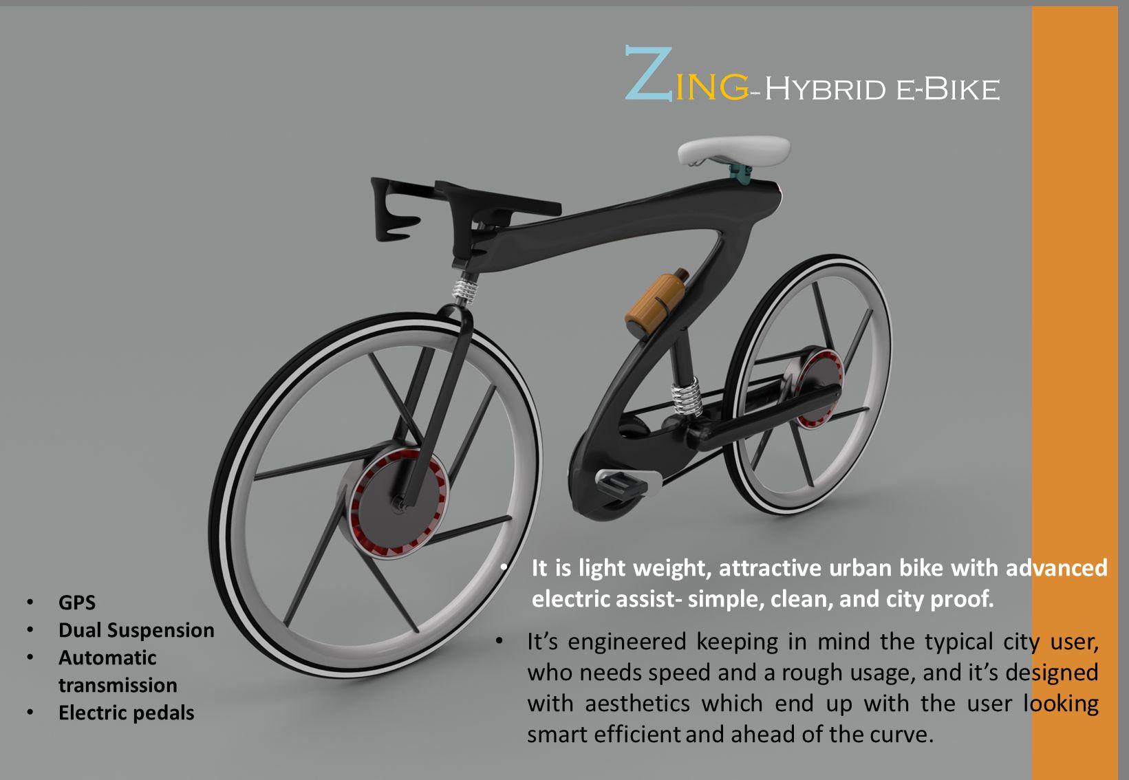 hybrid e bike design autodesk online gallery. Black Bedroom Furniture Sets. Home Design Ideas