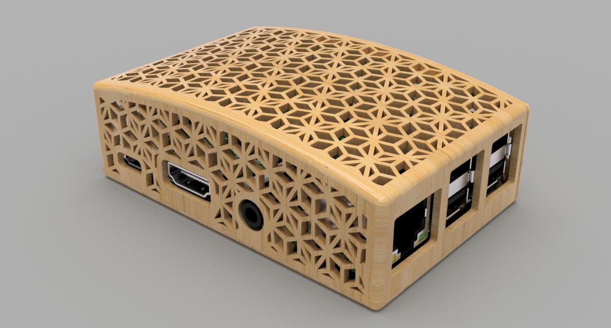 Raspberry Pi Case Japanese