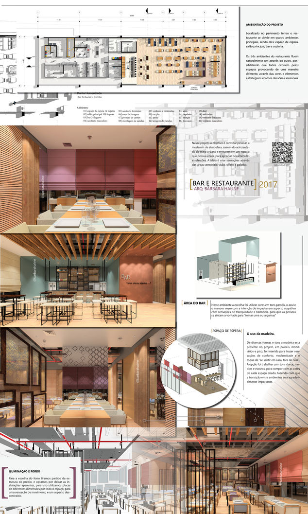 Projeto De Bar E Restaurante Autodesk Online Gallery