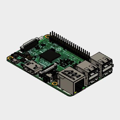 RASPBERRY Pi 3 - B Autodesk Online Gallery