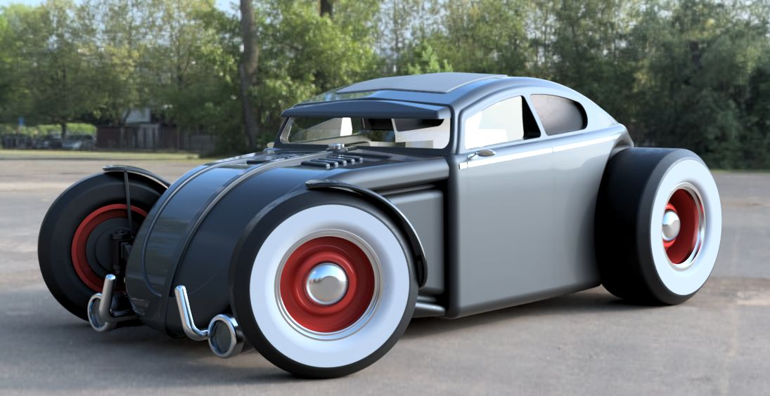 VW Hot Rod|Autodesk Online Gallery