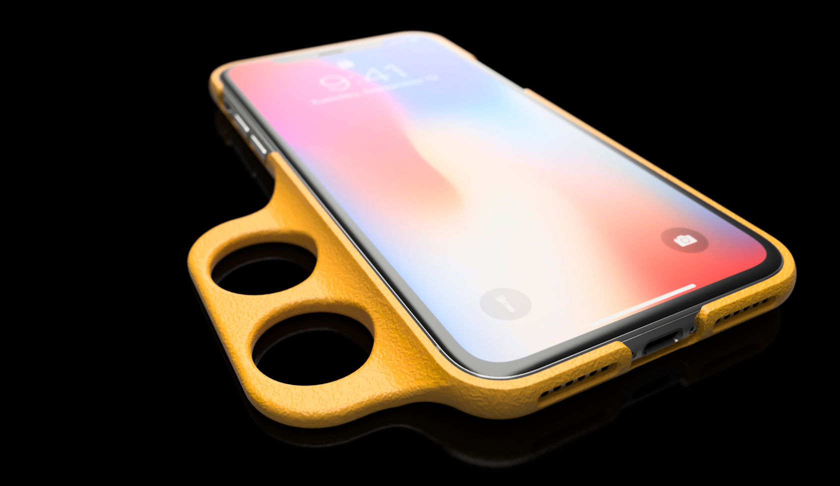 pretty nice 24453 b3d7a iPhone X Case - Ergonomic for Limited hand Mobility|Autodesk Online ...