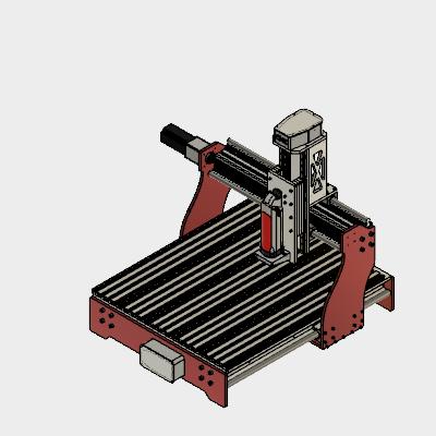 DIY Aluminium CNC Router Autodesk Online Gallery