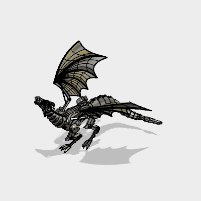 Mechanical Dragon|Autodesk Online Gallery